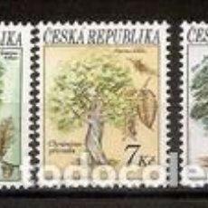 Timbres: SELLOS USADOS DE R.CHECA 1993, YT 22/ 24. Lote 289551373