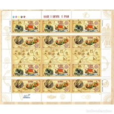 Sellos: ⚡ DISCOUNT UKRAINE 2003 WAY FROM THE VARANGIANS TO THE GREEKS MNH - SHIPS, CULTURE. Lote 289931168