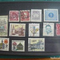 Francobolli: 12 SELLOS DE CHECOSLOVAQUIA. Lote 291892503