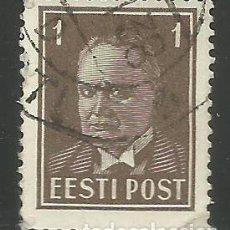 Sellos: ESTONIA - EESTI POST - USADO - VISITA MIS OTROS LOTES. Lote 293913718