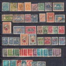 Sellos: ESTONIA, 1918 - 1939, LOTE DE SELLOS NUEVOS Y USADOS, DISTINTAS ÉPOCAS, ( CAT. +160€.). Lote 295310603