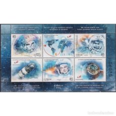 Sellos: ⚡ DISCOUNT SERBIA 2021 THE 60TH ANNIVERSARY OF THE FIRST MANNED SPACE FLIGHT MNH - SPACE, SP. Lote 295971683