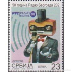 Sellos: ⚡ DISCOUNT SERBIA 2019 THE 50TH ANNIVERSARY OF RADIO BELGRADE MNH - RADIO. Lote 295971688