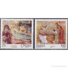 Sellos: ⚡ DISCOUNT SERBIA 2018 CHRISTMAS MNH - CHRISTMAS. Lote 295971718