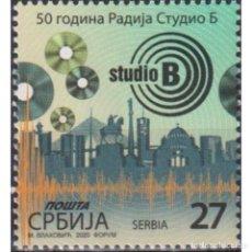 Sellos: ⚡ DISCOUNT SERBIA 2020 THE 50TH ANNIVERSARY OF RADIO STUDIO B MNH - RADIO. Lote 295971773