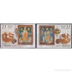 Sellos: ⚡ DISCOUNT SERBIA 2018 FAMILY ST. PATRON'S DAY MNH - HOLIDAYS, RELIGION. Lote 295971813