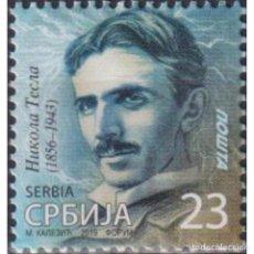 Sellos: ⚡ DISCOUNT SERBIA 2019 NIKOLA TESLA MNH - SCIENTISTS. Lote 295971883