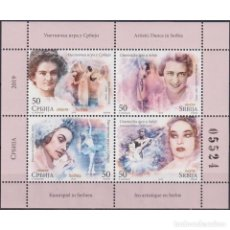 Sellos: ⚡ DISCOUNT SERBIA 2019 ARTISTIC DANCE IN SERBIA MNH - DANCING, BALLET. Lote 295971898