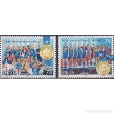 Sellos: ⚡ DISCOUNT SERBIA 2019 SERBIA - EUROPEAN VOLLEBALL CHAMPION 2019 MNH - SPORT, VOLLEYBALL. Lote 295971908