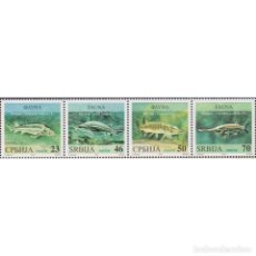 Sellos: ⚡ DISCOUNT SERBIA 2018 MARINE LIFE - FRESHWATER FISHES MNH - FISH. Lote 295971928