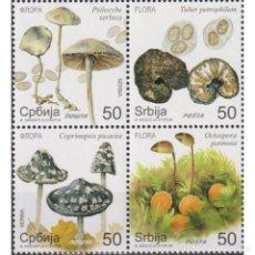 Sellos: ⚡ DISCOUNT SERBIA 2019 FLORA - MUSHROOMS MNH - FLORA, MUSHROOMS. Lote 295971938