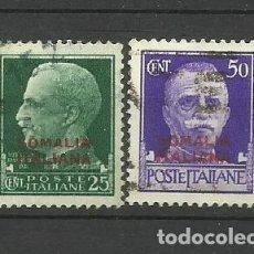 Sellos: ITALIA- - - COLONIAS SOMALIA 19231--USADO SERIE COMPLETA). Lote 296578128