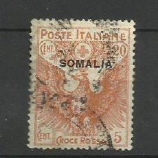 Sellos: ITALIA- - - COLONIAS SOMALIA 1916--USADO. Lote 296578658
