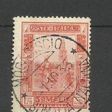Sellos: ITALIA- - - COLONIAS SOMALIA 1932--USADO. Lote 296579158