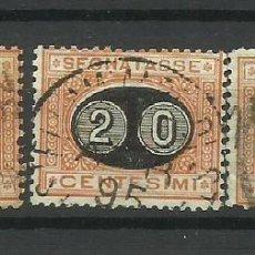 Sellos: ITALIA- - - SERIE NUMEROS 1890--USADO. Lote 296582728