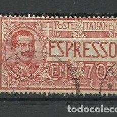 Sellos: ITALIA- - - 1925--USADO -. Lote 296586133