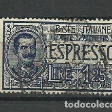 Sellos: ITALIA- - - 1926--USADO -. Lote 296586338