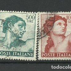 Sellos: ITALIA- - - 1961 - USADO - (SERIE COMPLETA). Lote 296587128
