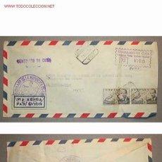 Sellos: SOBRE DIRIGIDO DESDE EL CONSULADO DE LA REP. DE CUBA EN VIGO EN 1954. Lote 12717528