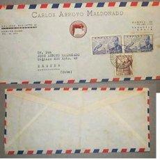 Sellos: SOBRE DIRIGIDO DESDE SABADELL POR CARLOS ARROYO MALDONADO(NO SE APRECIA EL AÑO). Lote 12176364