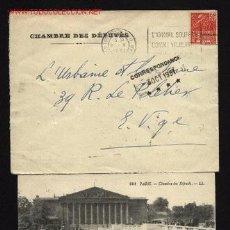Sellos: CHAMBRE DES DÉPUTÉS 1931 -FRANCIA. Lote 13103765