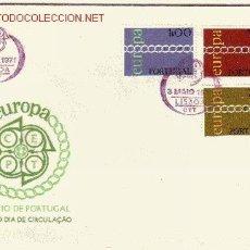 Sellos: PORTUGAL SPD 1107/09 - AÑO 1971 - EUROPA. Lote 12298149