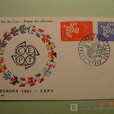 Sellos: 1951 FRANCIA FRANCE 1961 TEMA EUROPA SOBRE DIA EMISION SPD FDC MAS EN MI TIENDA COSAS&CURIOSAS. Lote 3551365