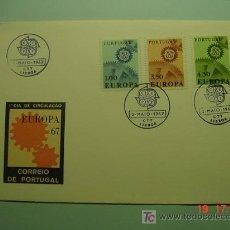 Sellos: 4714 PORTUGAL TEMA EUROPA ESCASO FDC - SPD 1967 - MIRA MAS EN COSAS&CURIOSAS. Lote 24057337