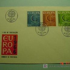 Sellos: 4715 PORTUGAL TEMA EUROPA ESCASO FDC - SPD 1966 - MIRA MAS EN COSAS&CURIOSAS. Lote 24881334