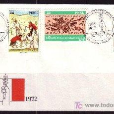 Sellos: PERU SPD 577/79 - AÑO 1972 - 4º ANIVERSARIO DE LAS GRANDES REFORMAS. Lote 4611588