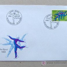 Sellos: FDC SUIZA 1989. DEPORTES. . Lote 4508054