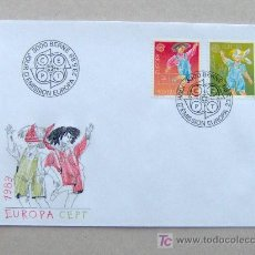 Sellos: FDC SUIZA 1989. EUROPA.. Lote 4508129