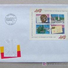 Sellos: FDC SUIZA 1990. EXPOSICIÓN FILATÉLICA.. Lote 6496949
