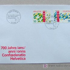 Sellos: FDC SUIZA 1990. . Lote 4508206