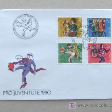 Sellos: FDC SUIZA 1990. JUVENTUD. . Lote 18318238