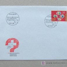 Sellos: FDC SUIZA 1990. . Lote 4508291