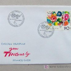 Sellos: FDC SUIZA 1988. PINTORES.. Lote 4508304