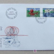 Sellos: FDC SUIZA 1987. EUROPA.. Lote 4508342