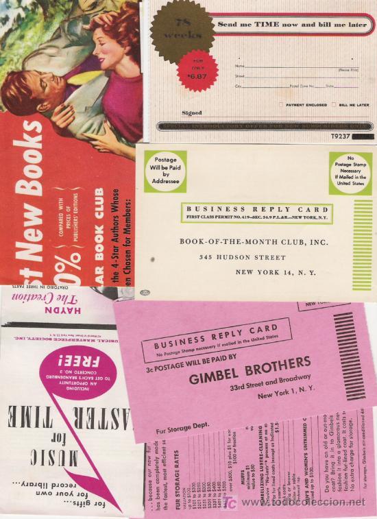 a3db1957826ae lote de seis tarjetas propaganda de ee.uu. - Comprar Historia Postal ...