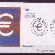 Sellos: FRANCIA SPD 3214/15*** - AÑO 1999 - SELLO EURO. Lote 7258619