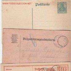 Sellos: ALEMANIA BONITO LOTE DE ENTERO POSTALES . Lote 7903017