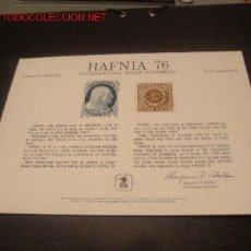 Sellos: HAFNIA 76. Lote 26490077