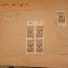 Sellos: FRONTAL DE SOBRE ALEMAN. Lote 27275844