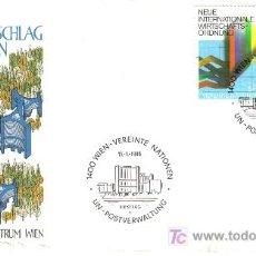 Sellos: NACIONES UNIDAS ONU VIENA SPD 1980 . Lote 14374546