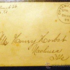 Sellos: USA (1899) PRECIOSA CARTA CIRCULADA. Lote 26251898
