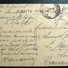 Sellos: BELGICA (1920) I GUERRA MUNDIAL MATASELLOS MILITAR. MUY RARO. Lote 26251904