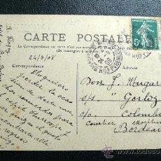 Sellos: FRANCIA (1908) PRECIOSA. Lote 26691100