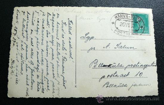 NARVA TAPE. MATASELLOS DE FERROCARRIL MINERO . RARO (Sellos - Historia Postal - Sellos otros paises)