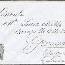 Sellos: BELGICA-IVERT.60-CARTA CIRCULADA DE GEMBLOUX A GRANADA . Lote 17603865