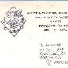 Sellos: USA - SINDICATO POLICIAL - FRATERNAL ORDER....... Lote 27440689